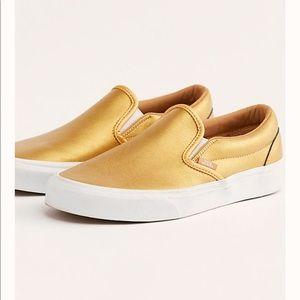 Gold Vans